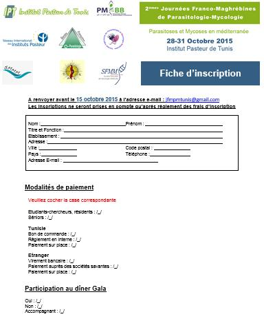 fiche d'inscription 2jfmpm